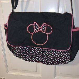 Disney minnie mouse crossbody messenger bag